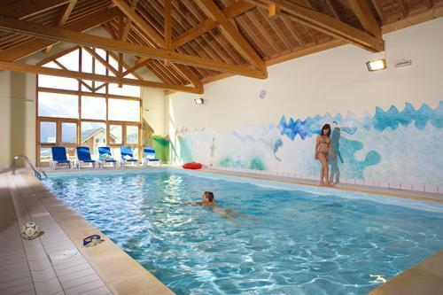 Location au ski La Fontaine Du Roi - Saint Jean d'Arves - Piscine