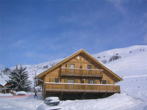 Rental Les Chalets De La Fontaine winter