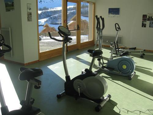 Location au ski Les Chalets Des Ecourts - Saint Jean d'Arves - Espace fitness