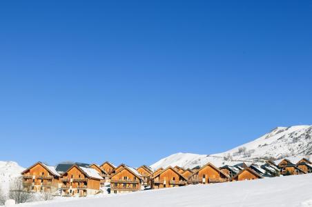 Location au ski Chalets les Marmottes - Saint Jean d'Arves - Extérieur hiver
