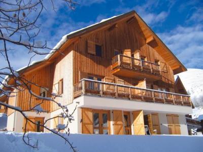 Location Saint Jean d'Arves : Chalets Les Marmottes hiver