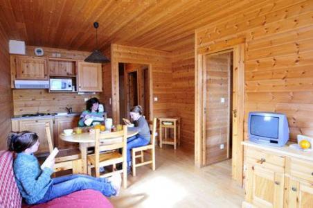 Location au ski Appartement 2 pièces 4-5 personnes - Chalets Les Marmottes - Saint Jean d'Arves - Séjour