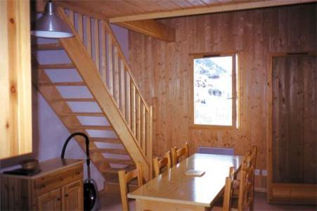 Location au ski Appartement 3 pièces 6 personnes - Chalets Les Marmottes - Saint Jean d'Arves - Séjour