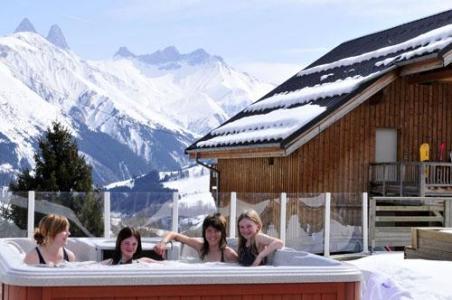 Location au ski Chalets Les Marmottes - Saint Jean d'Arves - Bain à remous