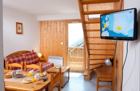 Аренда на лыжном курорте La Fontaine du Roi - Saint Jean d'Arves - Салон