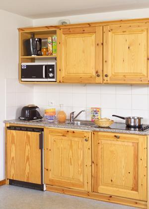 Location au ski La Fontaine Du Roi - Saint Jean d'Arves - Kitchenette