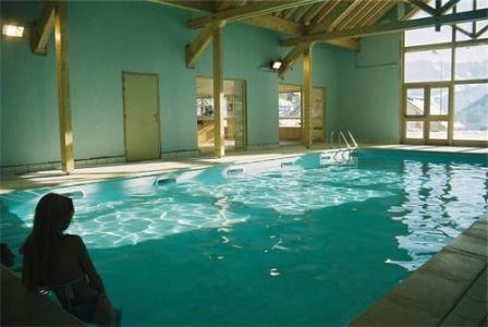 Location au ski Les Chalets De La Fontaine - Saint Jean d'Arves - Piscine