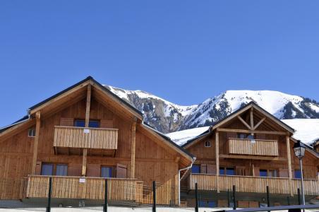 Vacances en montagne Les Chalets des Ecourts - Saint Jean d'Arves - Extérieur hiver