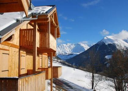 Location au ski Les Chalets Des Ecourts - Saint Jean d'Arves - Extérieur hiver