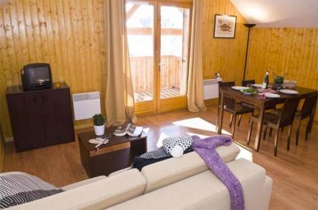 Аренда на лыжном курорте Les Chalets des Ecourts - Saint Jean d'Arves - Салон