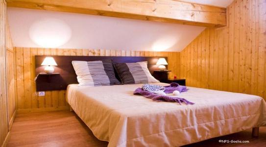 Location au ski Les Chalets Des Ecourts - Saint Jean d'Arves - Chambre mansardée