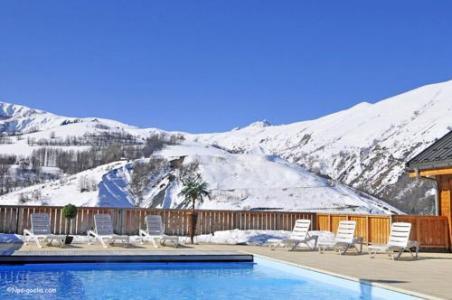 Location au ski Les Chalets Des Ecourts - Saint Jean d'Arves - Piscine