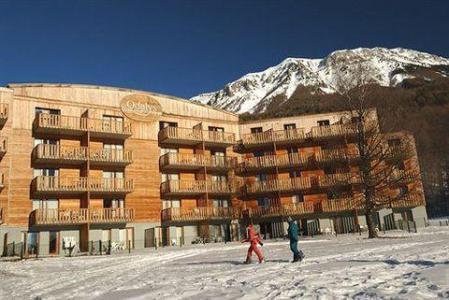 Location au ski La Source Blanche - Saint-Jean Montclar - Extérieur hiver