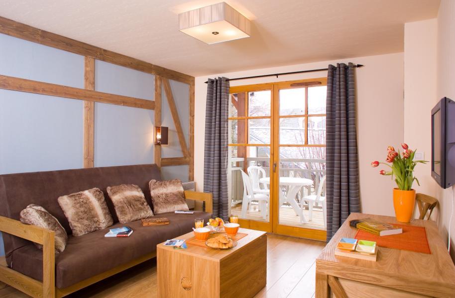 Alquiler al esquí Résidence Cami Real - Saint Lary Soulan - Sofá