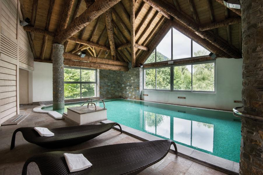 Location au ski Résidence Lagrange l'Ardoisière - Saint Lary Soulan - Piscine