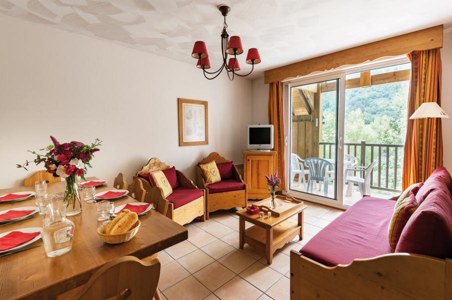 Location au ski Résidence Lagrange l'Ardoisière - Saint Lary Soulan - Séjour