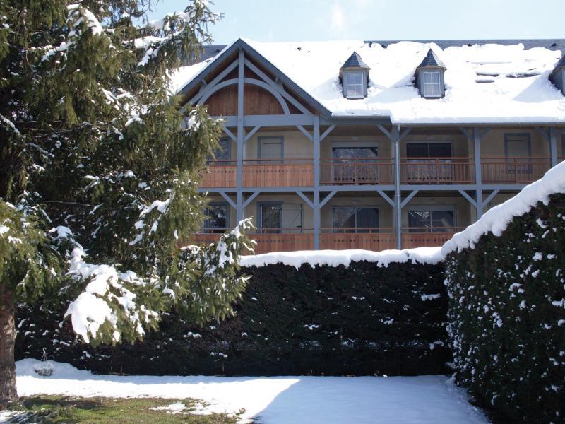 Location au ski Résidence Lagrange le Clos Saint Hilaire - Saint Lary Soulan - Extérieur hiver
