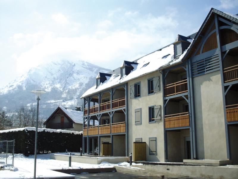 Holiday in mountain resort Résidence Lagrange le Clos Saint Hilaire - Saint Lary Soulan - Winter outside