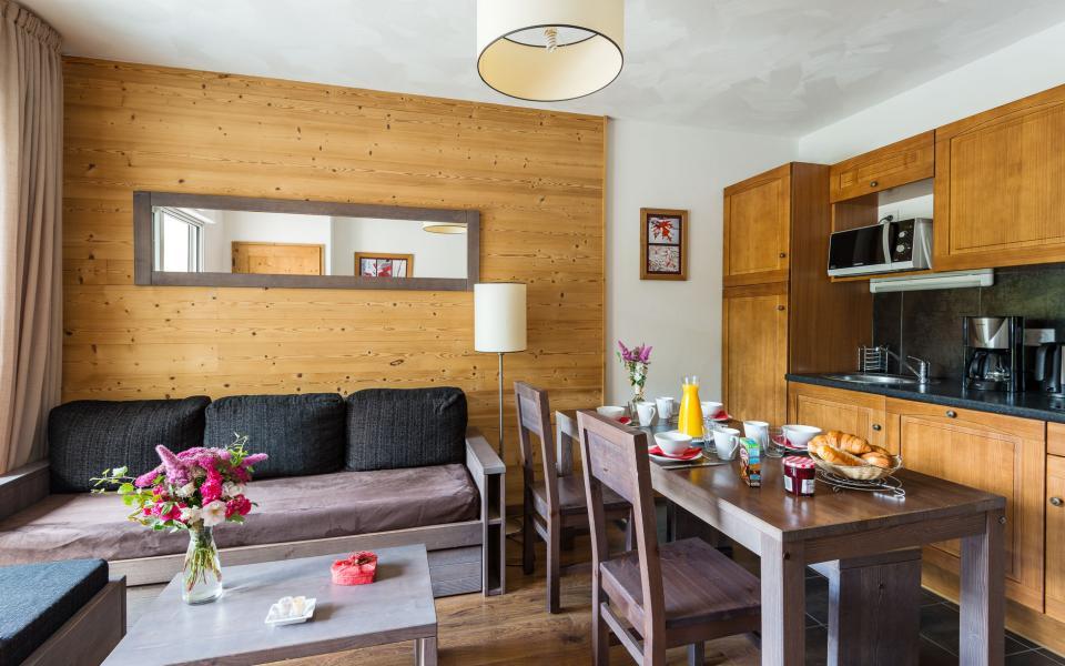 Alquiler al esquí Résidence Lagrange le Clos Saint Hilaire - Saint Lary Soulan - Cocina