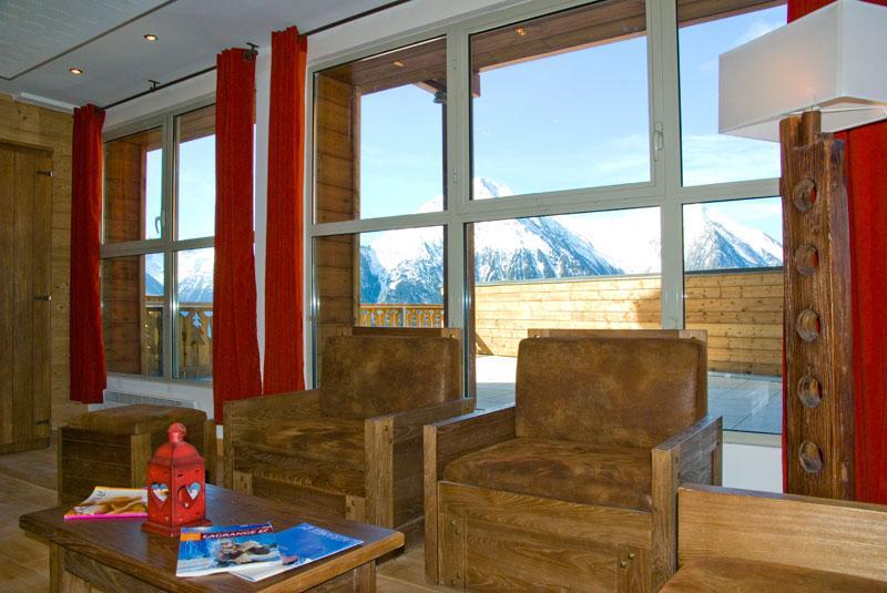 Location au ski Résidence Lagrange les Chalets de l'Adet - Saint Lary Soulan - Réception