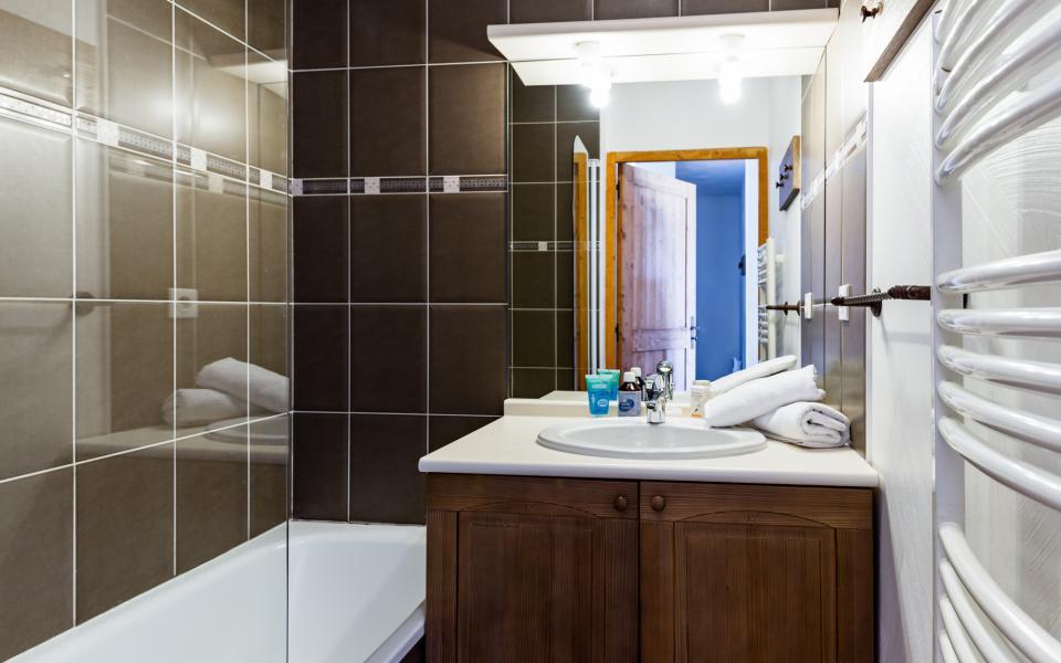 Location au ski Résidence Lagrange les Chalets de l'Adet - Saint Lary Soulan - Salle de bains