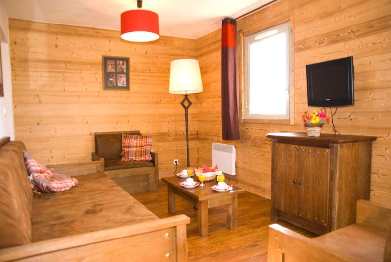 Alquiler al esquí Résidence Lagrange les Chalets de l'Adet - Saint Lary Soulan - Salón