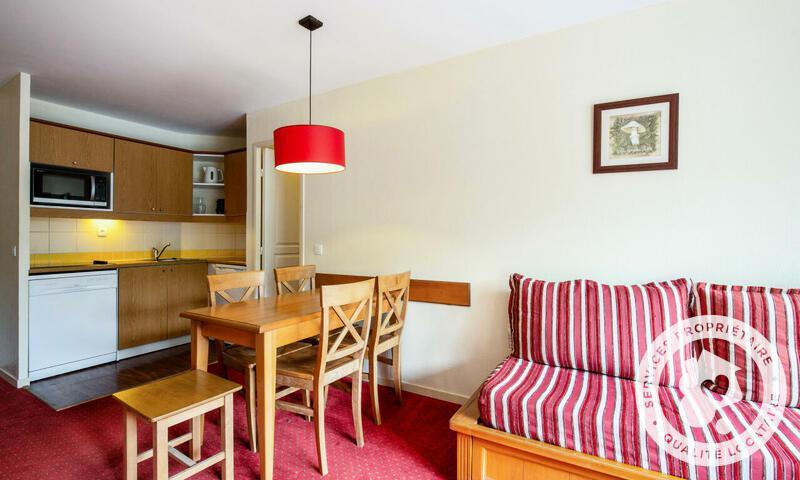 Аренда на лыжном курорте Апартаменты 2 комнат 5 чел. (Confort 30m²-1) - Résidence les Rives de l'Aure - Maeva Home - Saint Lary Soulan - зимой под открытым небом