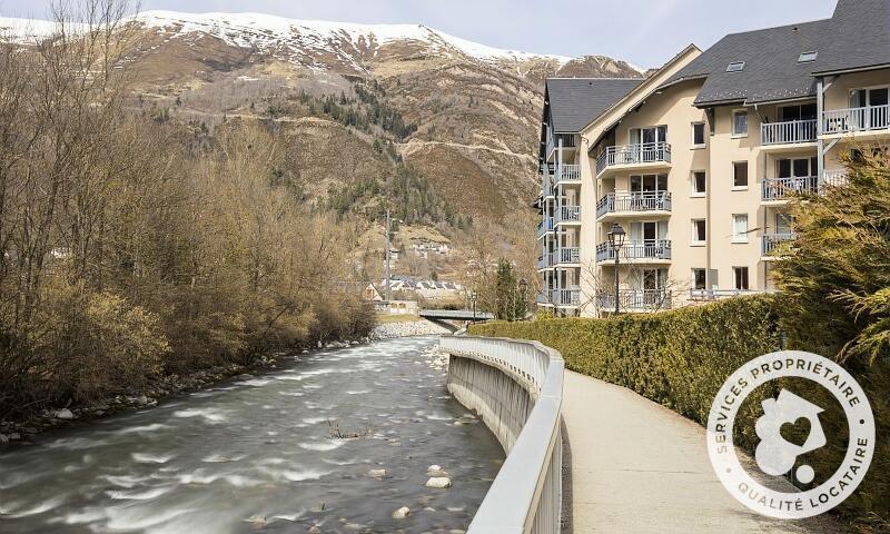 Аренда на лыжном курорте Résidence les Rives de l'Aure - Maeva Home - Saint Lary Soulan - зимой под открытым небом