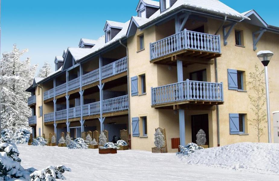 Location au ski Résidence les Trois Vallées - Saint Lary Soulan - Extérieur hiver