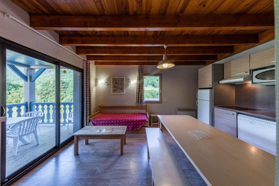 Alquiler al esquí Résidence les Trois Vallées - Saint Lary Soulan - Comedor