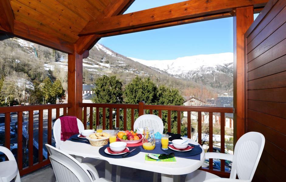 Location au ski Résidence Soleil d'Aure - Saint Lary Soulan - Balcon
