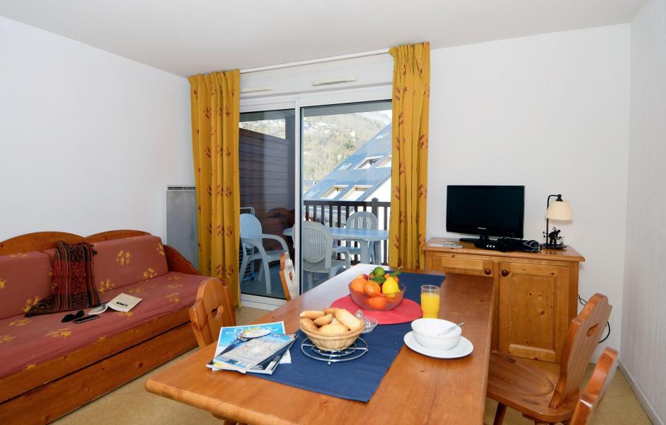 Location au ski Résidence Soleil d'Aure - Saint Lary Soulan - Canapé