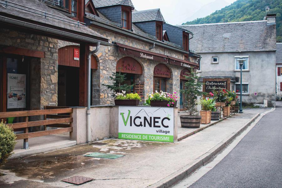 Location au ski Résidence Vignec Village - Saint Lary Soulan - Extérieur hiver
