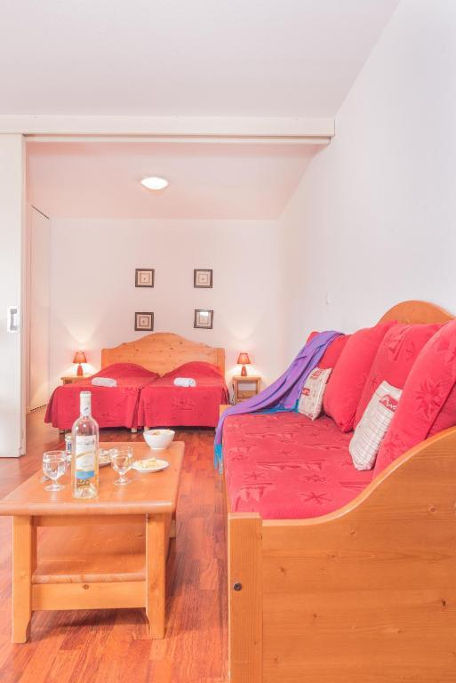 Location au ski Appartement 2 pièces 4 personnes (1-0037) - Résidence Vignec Village - Saint Lary Soulan