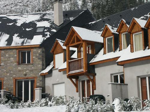 Location au ski Résidences Vieille Aure - Saint Lary Soulan - Extérieur hiver