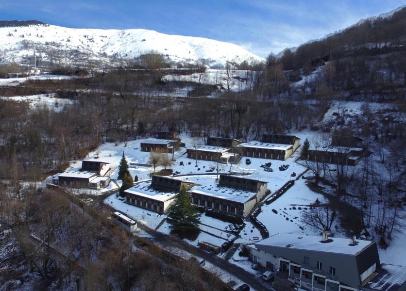 Location au ski VVF Villages l'Aurégon - Saint Lary Soulan - Extérieur hiver