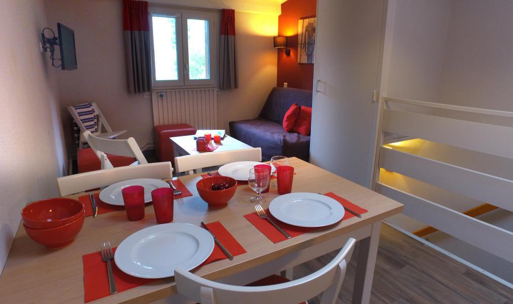 Location au ski VVF Villages l'Aurégon - Saint Lary Soulan - Salle à manger