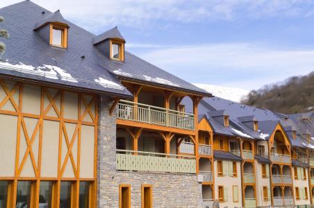 Rent in ski resort Résidence Cami Real - Saint Lary Soulan - Winter outside
