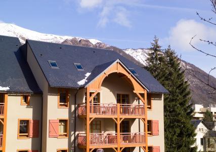 Location au ski Résidence Cami Real - Saint Lary Soulan - Extérieur hiver