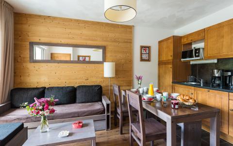 Аренда на лыжном курорте Résidence Lagrange le Clos Saint Hilaire - Saint Lary Soulan - Кухня