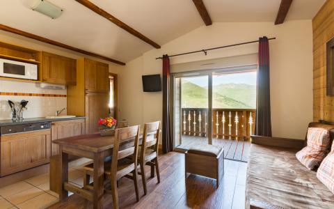 Location au ski Résidence Lagrange les Chalets de l'Adet - Saint Lary Soulan - Salle à manger