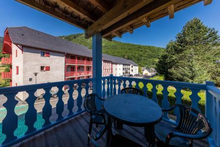 Location au ski Résidence les Trois Vallées - Saint Lary Soulan - Balcon