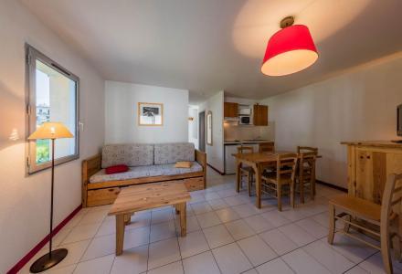 Location au ski Résidence les Trois Vallées - Saint Lary Soulan - Salle à manger