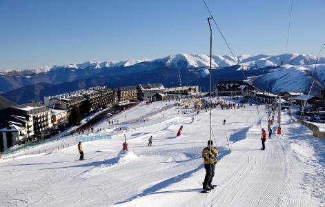 Location au ski Résidence Soleil d'Aure - Saint Lary Soulan - Extérieur hiver