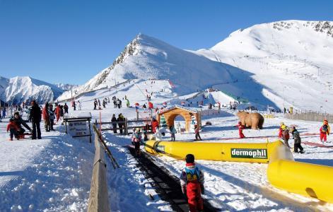 Vacances en montagne Résidence Soleil d'Aure - Saint Lary Soulan - Extérieur hiver