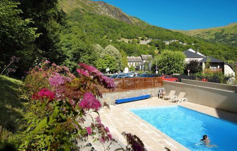 Location au ski Résidence Soleil d'Aure - Saint Lary Soulan - Piscine
