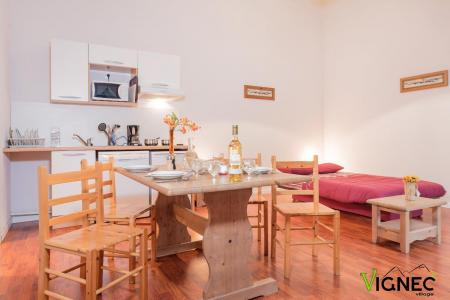 Location 8 personnes Appartement 3 pièces alcôve 8 personnes (3P Terrasse) - Résidence Vignec Village