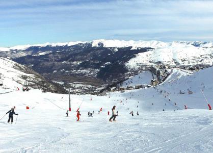 Location au ski VVF Villages l'Aure Pyrénéen - Saint Lary Soulan - Extérieur hiver