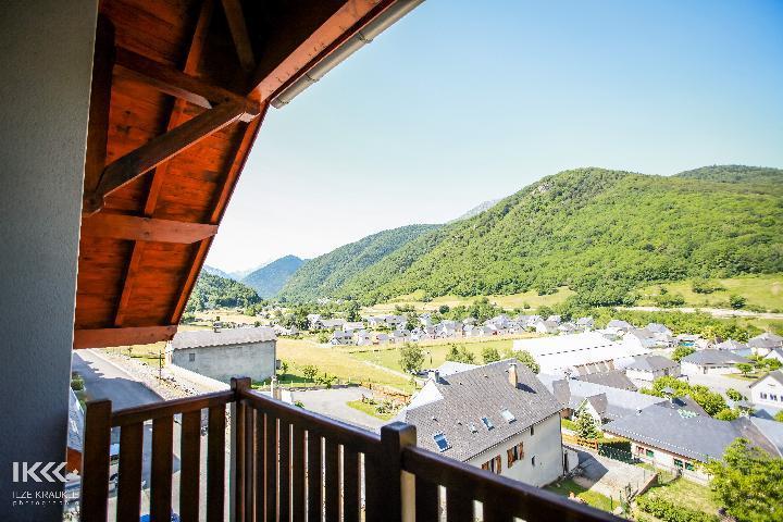 Location au ski Appartement 2 pièces cabine 6 personnes - Residence Les Balcons De La Neste - Saint Lary Soulan - Balcon