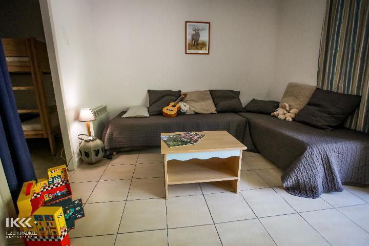 Location au ski Studio cabine 4 personnes (avec balcon) - Residence Les Balcons De La Neste - Saint Lary Soulan - Banquette-lit